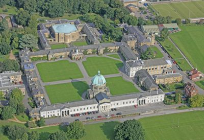 Haileybury from the air